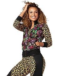 Zumba Fitness Zumba goza 042.n Mesh Zip Up Jacket Madame Tops