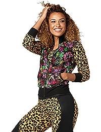 Zumba Women s Gozadera Mesh Zip Up Jacket 4ae0d55f74a