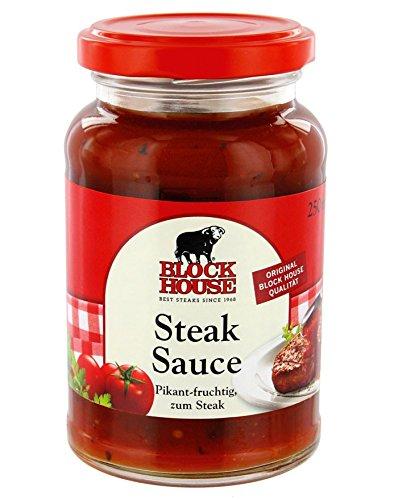 Preisvergleich Produktbild Block House Steak Sauce,  240 ml Flasche