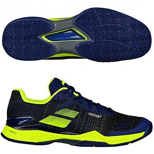 Babolat Chaussures DE Tennis Jet Mach II All Court Hommes, Marine, 44