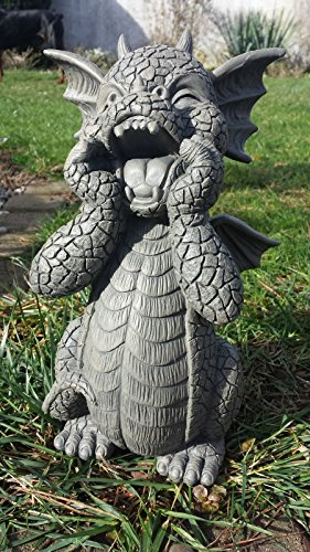 Figure de jardin Dragon cris décoration