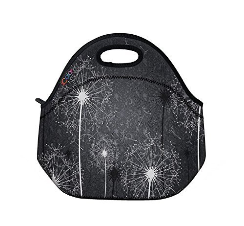 dandelion-insulated-lunch-bag-kids-school-food-box-cooler-neoprene-soft-case-tote-pouch-by-professio