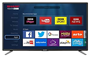 Sharp LC-32CHE6131K 32-Inch Widescreen 720p HD Ready LED Smart TV with Freeview HD
