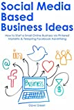 SOCIAL MEDIA BASED BUSINESS IDEAS: How to Start a Small Online Business via Pinterest Marketin & Teespring Facebook Advertising (English Edition)