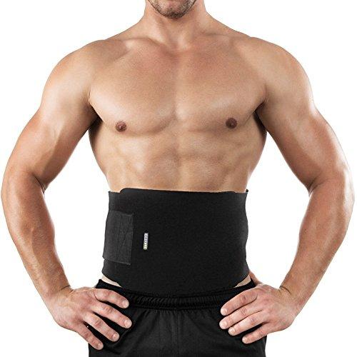 BRACOO Fitnessgürtel – Damen & Herren – Hot Belt – Schwitzgürtel – Waist Trimmer | Schnell & Einfach Abnehmen mit dem Bauchweggürtel Test