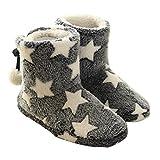 Summer Mae Donna Pantofole Inverno Caldo Stella Pantofola Con Pom Poms