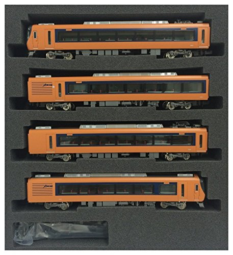 Kintetsu Series 22600 [Ace] Additional 4-Car Formation Set (Trailer Only) (Add-On 4-Car Set) (Model Train)
