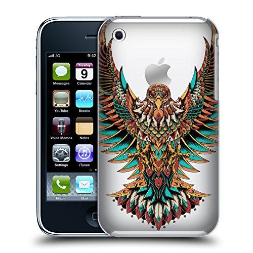 Iphone 3g Adler (Offizielle Bioworkz Verzierter Adler 2 Farbige Tierwelt 4 Ruckseite Hülle für Apple iPhone 3G / iPhone 3GS)
