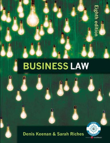 Online Course Pack: Buisness Law and Contract Law online Study Guide Access Card ( CourseCompass)