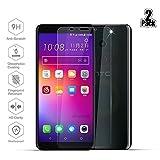 [2 Pièces] HTC U11 Plus Protection écran, Beyeah Protection écran en Verre Trempé [Ultra Clair] [Easy-Install] [Résistant aux rayures] [GARANTIE À VIE]