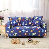 MissHome Sofabezug Elastischer Haustier-Bezug Sofaüberwurf Sofa Cover Stretch Hussen für Sofa/Couch Rutschfest Möbelschutz Sofahusse Couchbezug 1/2/3/4 Sitzer