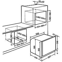 Smeg SF465X - Horno Sf465X Multifunción