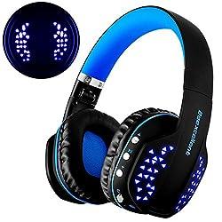 Polyvalent avec haute performance écouteur de Beexcellent: - Haut-parleurs professionnels, vous donner un son de cristal. Pop, Rock, R&B et d'autres styles de musique peuvent être une présentation parfaite. - Ideal pour musique, vidéo et vidéogam...