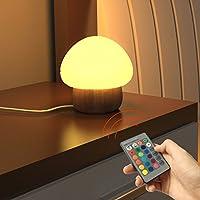 Multi Color Night Light LED, SUNNIOR silicone portatile cambiante sveglia