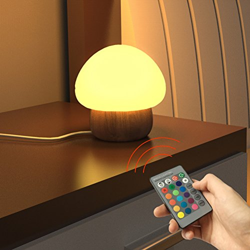 Multi Color Night Light LED, SUNNIOR silicone