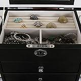 Songmics-Caja-Joyero-Joyas-Aretes-Dijes-anillo-de-la-pulsera-joyera-caja-de-almacenamiento-de-regalo-JBC06B