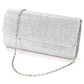 Anladia Ladies Evening Party Small Clutch Bag Bridal Purse Handbag Shoulder Bag