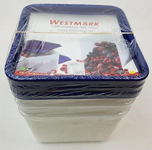 Westmark Gefrierdosen 0.5L , 4er Pack