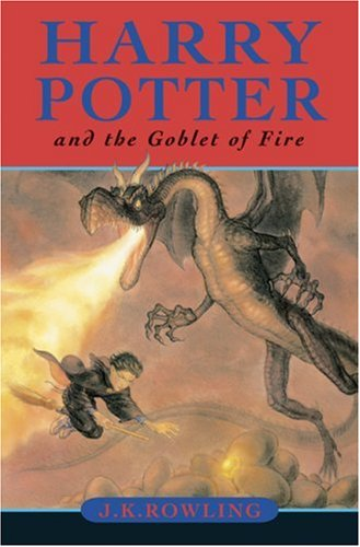 Book cover for Harry Potter and the Goblet of Fire