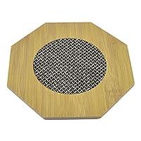 sourcingmap® Esagonale Cucina Hot Pot Stand Scodella Padella Termoresistente Tappetino