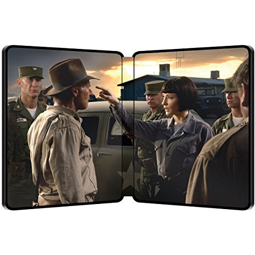 Indiana Jones and the Kingdom of the Crystal Skull – Exklusive Limited Steelbook Edition (inkl. Deutscher Ton / auf 4000 Stk. geprägt) (Das Königreich des Kristallschädels) [Blu-ray] - 2