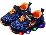 2019 Otoño Nuevos Zapatos Intermitentes para Niños Zapatos Deportivos para Niños Zapatos Spider-Man Zapatos De Suela Blanda