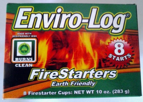 Fire Starter,Cup,8 Count by Enviro-Log