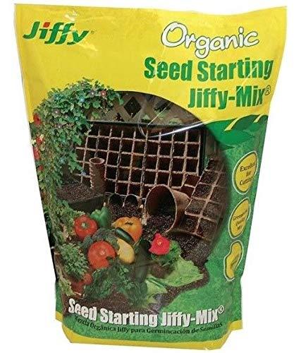 Seed-start-mix (PLAT FIRM GERMINATIONSAMEN: Jiffy G316 Organic Seed Start Mix, 16 Quart)