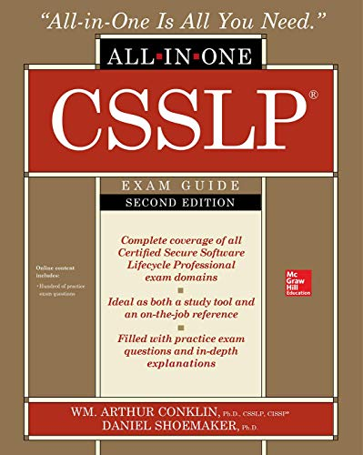 CSSLP Certification All-in-One Exam Guide, Second Edition por Wm. Arthur Conklin