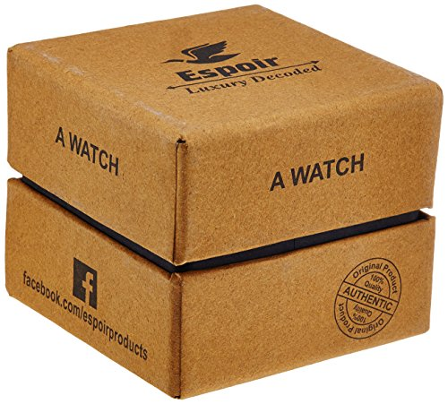 Espoir Makani Collection Analog Black Dial Women's Watch - ShrutiHassanGold0507