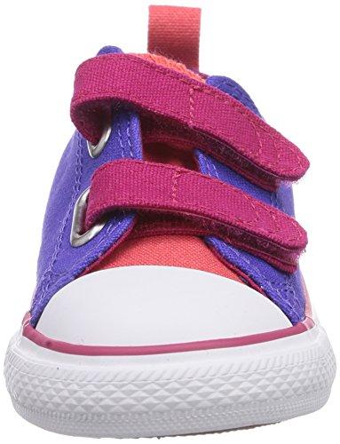 Converse - Chuck Taylor All Star 2v Ox, Scarpe da ginnastica Unisex – Bambini Purple (Violet/Framboise)