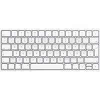 Apple Magic Keyboard - Teclado (Bluetooth, QWERTZ, Alemán, Inalámbrico, Plata, Color blanco, PC/server)