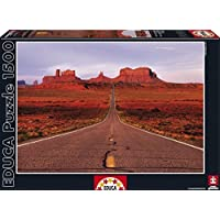 Educa Monument Valley Road Puzzle (1500 Piece), One Color by Educa