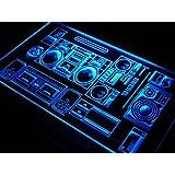 Cartel Luminoso ADV PRO s107-b Home Theater Hi Fi System Shop Neon Light Sign
