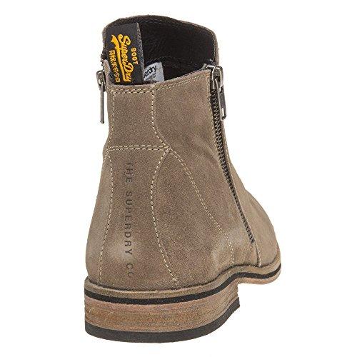 Superdry Trenton Zip Homme Boots Gris Gris
