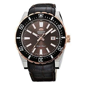 Orient Reloj Analógico para Hombre de Automático con Correa en Cuero FAC09002T0
