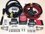Durite, SCKD315 - Kit con relè a ripartizione di carica con rilevamento intelligente della tensione,12 V, 140 A, 5 m, 110 amp