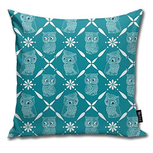 e Petrol Überwurf Kissenbezug für Zuhause Wohnzimmer Couch Sofa Dekorationen 45,7 x 45,7 cm ()