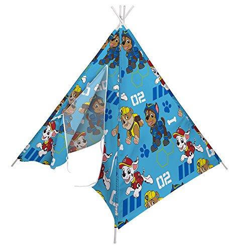 Character world per bambini paw patrol camera da letto e sala giochi teepee tent set