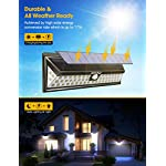 Mpow 54 LED Security Lights, Solar Powered Lights Outdoor Wall Lamp 9