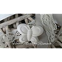 Gessetti profumati 25 farfalle 3x 3 cm segnaposto matrimonio,nozze