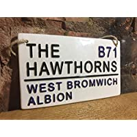 WEST BROMWICH ALBION-The Hawthorns-Football sign-Street Sign