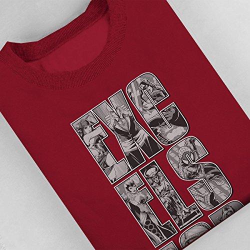 Marvel Excelsior Women's Sweatshirt Cherry Red