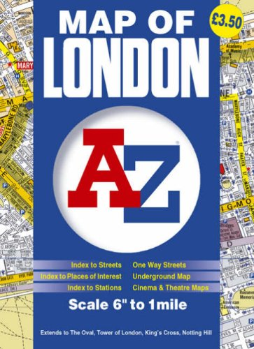 Map of London (Street Maps & Atlases)