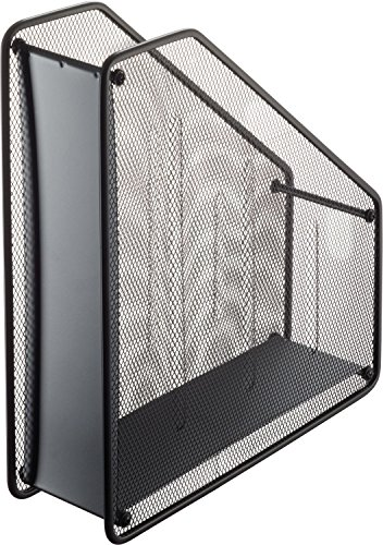 Helit h2518095 in rete per riviste in formato A4, colore: nero