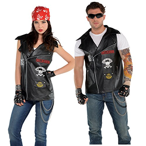 Harley Biker Kostüm - Unisex Biker Vest