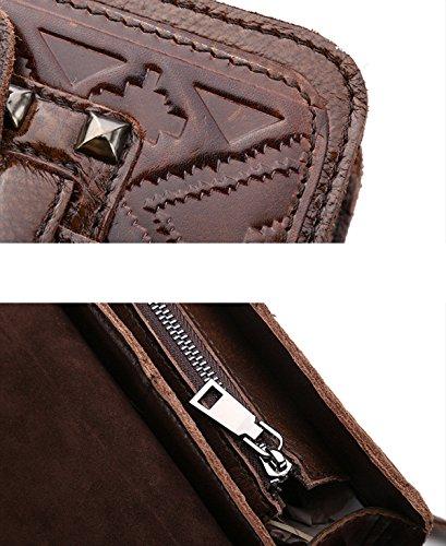 Frauen Vintage Umhängetasche Leder CrossBody Messenger Bags Für Frauen Handtaschen Smart Casual Mädchen Satchel Handtasche Satchel