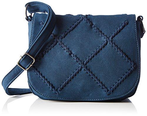 Fritzi aus Preussen Damen Kesara Business Tasche, Blau (AVIATOR), 10x18x23 cm