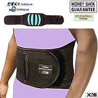 Rückenbandage Neopren Untere Lendenwirbelstütze unterstützt oberen Rücken Halt Atmungsaktive Rückseite Schmerzen... preisvergleich bei billige-tabletten.eu