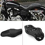 Sella Moto Sedili Anteriore Pilota Posteriore Sedili Passeggino Cuscino Accessori Moto Per Harley Davidson 883 XL1200